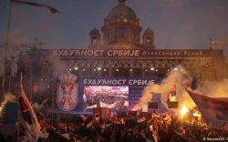 Серби: Эсэргүүцлийн хөдөлгөөн иргэний дайн болох аюултай