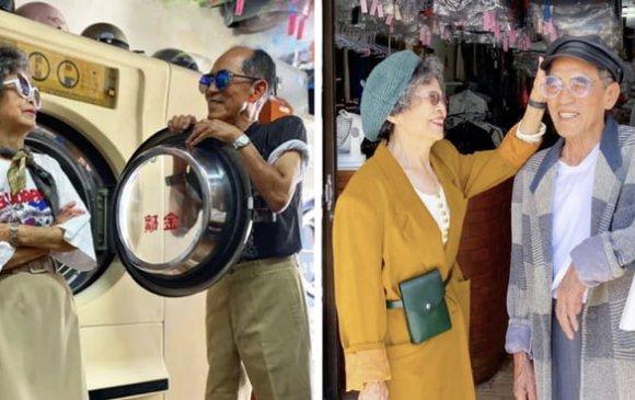 Тайванийн 80 настай загварлаг хос