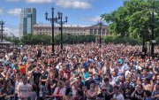 Оросын Алс Дорнодод 40 мянган хүн оролцсон жагсаал болов