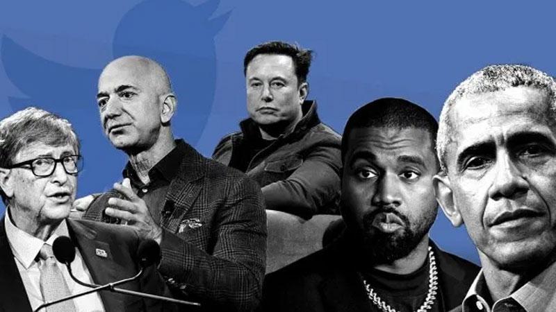 АНУ-ын тэрбумтан, алдартнуудын твиттер хуудсууд хакердуулжээ