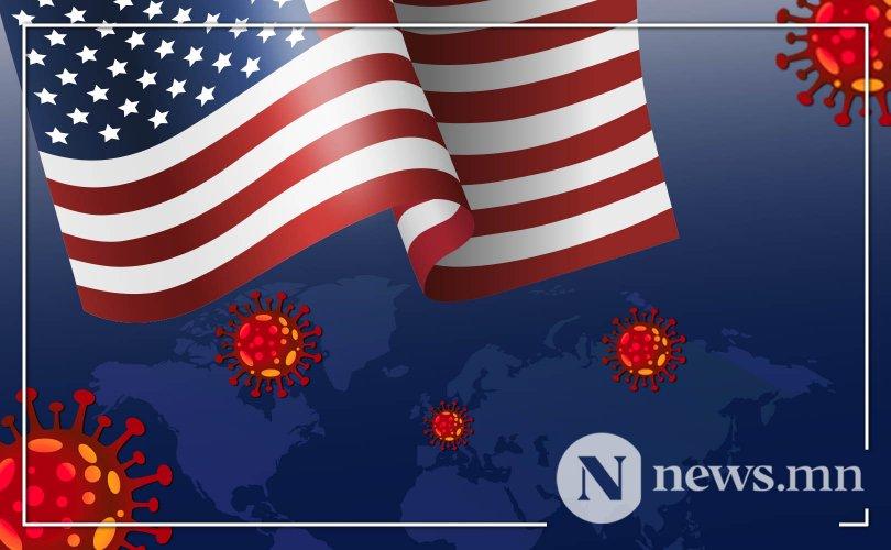 Covid-19: АНУ-д халдвар авагсдын тоо 4 сая давав