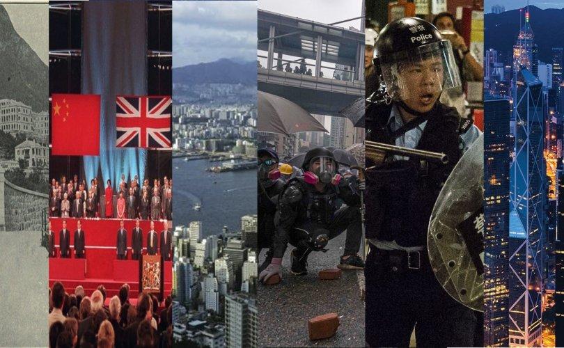 """Хонгконгийн түүхэн дэх гурван """"Долдугаар сарын 1"""""""