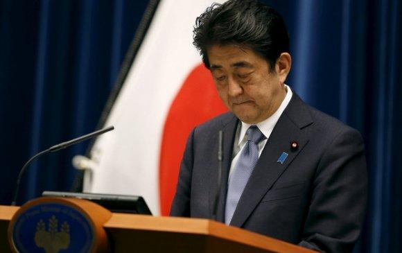 Японы Ерөнхий сайд ард түмнээсээ уучлалт гуйлаа