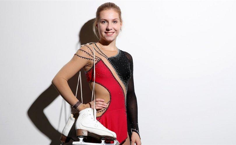 Уран гулгалтын дэлхийн аварга Екатерина Александровская амиа хорложээ