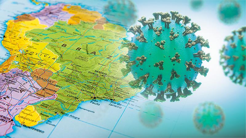 """Бразил: Цар тахлаар далимдуулж улсын мөнгийг """"идэж"""" байна"""