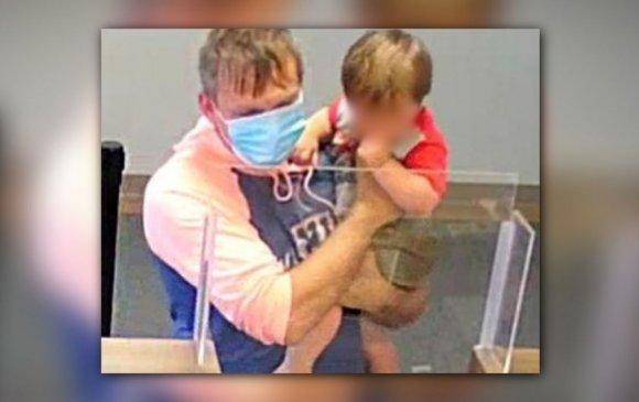 Хүүхдээ дагуулан банк дээрэмдсэн эрийг баривчилжээ