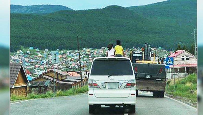 Хүүхдээ буруу тээвэрлэсэн иргэний жолоодох эрхийг хасчээ