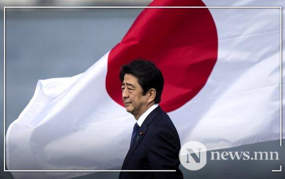 Японы Ерөнхий сайд Шинзо  Абэ огцрохоор болжээ