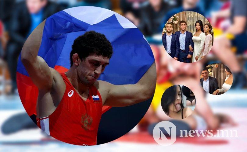 Дэлхийн аварга Заурбек Сидаков хуриман дээрээ сүйт бүсгүйгээ зоджээ