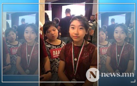 Монгол охин Унгарын шатрын АШТ-д оролцож, дэд байр эзэлжээ