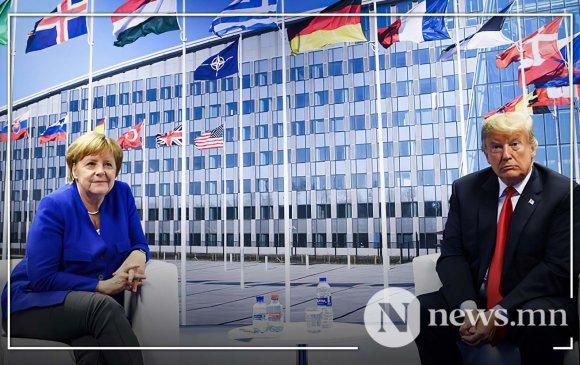 """""""Трамп Германаас цэргээ татаж буй нь NATO-ийн задралын эхлэл"""""""