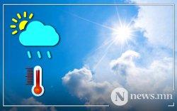 Улаанбаатарт 25-27 градус дулаан байна