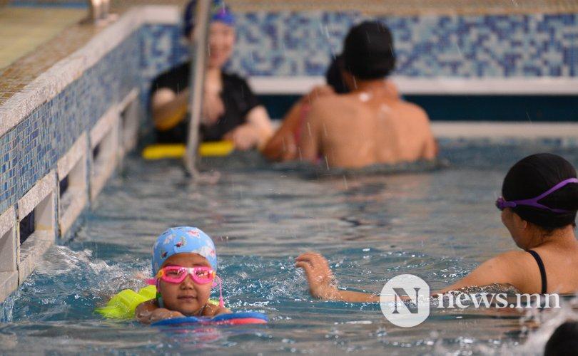 """""""Усан спортоор хичээллэснээр дархлаа сайтай болдог"""""""