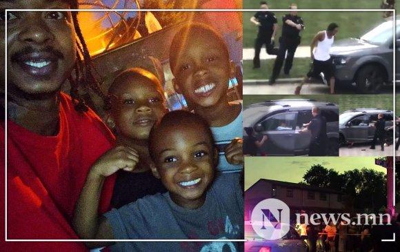 Цагдаа нар өнгөт арьст эрийг хүүхдүүдийнх нь нүдэн дээр долоон удаа бууджээ