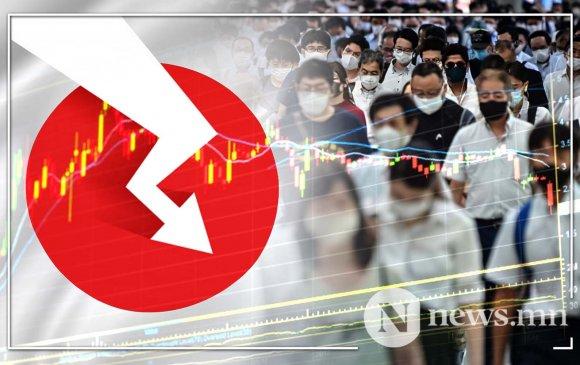 Японы эдийн засаг түүхэнд байгаагүйгээрээ унаж байна
