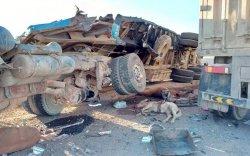 Өмнөговь аймгийн Цогт-Овоо суманд зам тээврийн ноцтой осол гарчээ