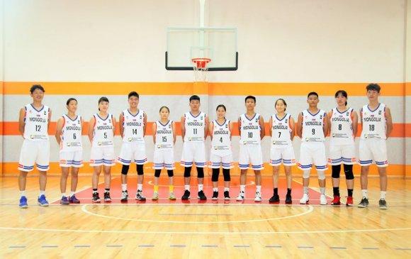 FIBA U17 Skill Challenge тэмцээнд Монголын баг тамирчид өрсөлдөж байна