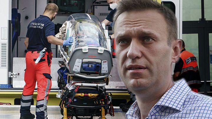 Навальныйг хордуулсан гэж Германы эмч нар дүгнэжээ