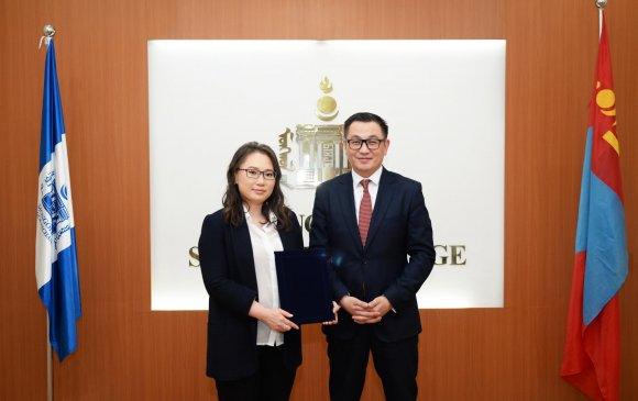 """""""Үндэсний хувьчлалын сан"""" ХОС Монголын хөрөнгийн биржид бүртгүүллээ"""