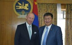 Монгол, Германы хамтын ажиллагааны талаар хоёр тал санал солилцлоо