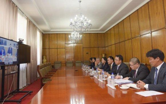Б.Мөнхжин Луо Жаохуй нар Монгол, Хятадын стратегийн яриа хэлэлцээний уулзалт хийв