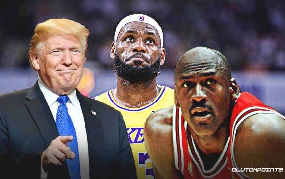 Трамп: NBA улс төрийн байгууллага болж байна