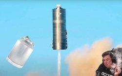 """Элон Маск """"бидон хөлөг""""-өө 150 м өндөрт нисгэж, амжилттай туршлаа"""