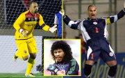 Хөлбөмбөгийн түүхэн дэххамгийн олон гоол оруулсан 10 хаалгач