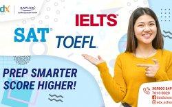 SAT, IELTS, TOEFL-н шалгалтанд бэлдэх ухаалаг шийдлүүд