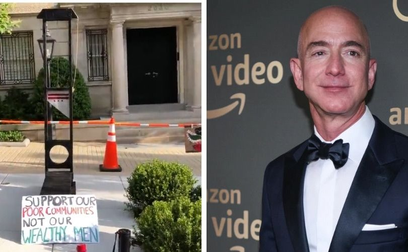 """""""Amazon""""-ы ажилчид даргынхаа гэрийн гадна """"толгой авагч"""" байрлуулав"""
