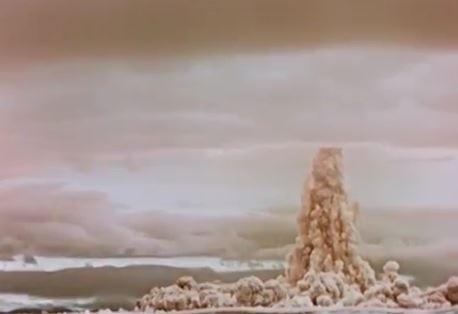 Цөмийн хамгийн том туршилтын бичлэгийг нууцаас гаргаж, олонд дэлгэжээ