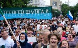 Путиныг эсэргүүцсэн жагсаал 24 дэх өдрөө үргэлжлэв
