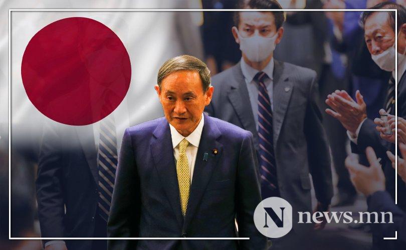 Ёшихидэ Сүгагийн удирдах Япон улс ямар байх вэ?