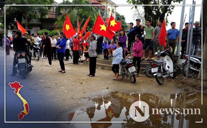 Вьетнам: Гурван цагдаа хөнөөсөн иргэдийг шүүж байна