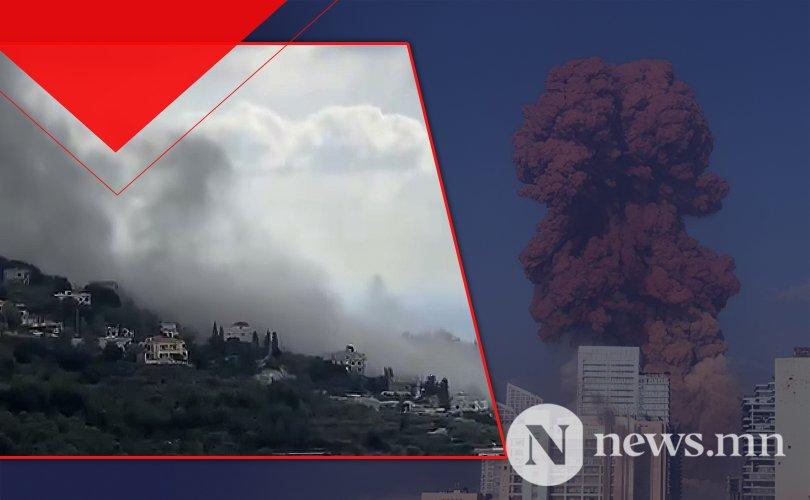 Ливанд дахин нэг том дэлбэрэлт болжээ