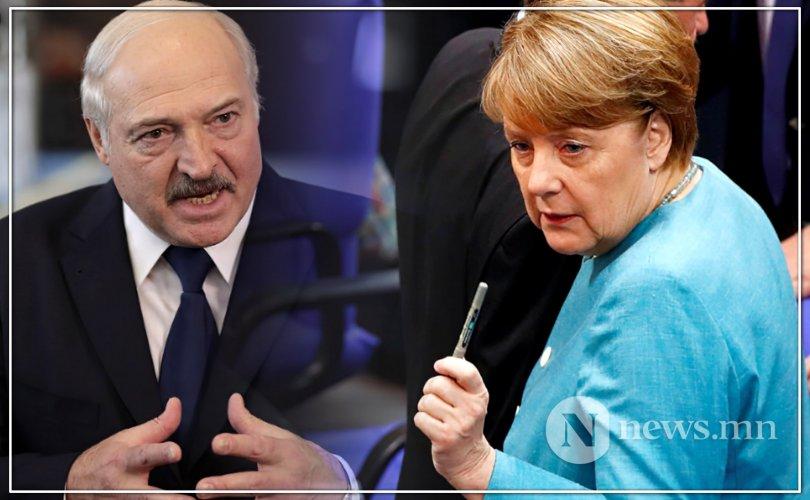 Лукашенко: Навальныйг хордуулсан гэдэг бол Меркелийн зохиол