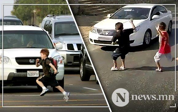 Гурван настай хүүхдийг мөргөж, зугтсан жолоочийг илрүүлжээ