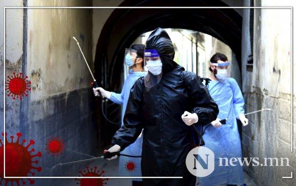Сирид НҮБ-ын 200 ажилтан коронавирусийн халдвар авчээ