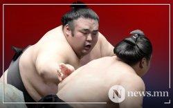 Тэрүнофүжи Ган-Эрдэнэ тэргүүтэй таван бөх башёг тэргүүлж байна