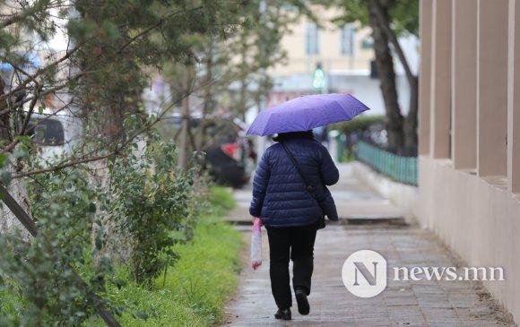 Улаанбаатарт 16 градус дулаан, бага зэргийн бороо орно
