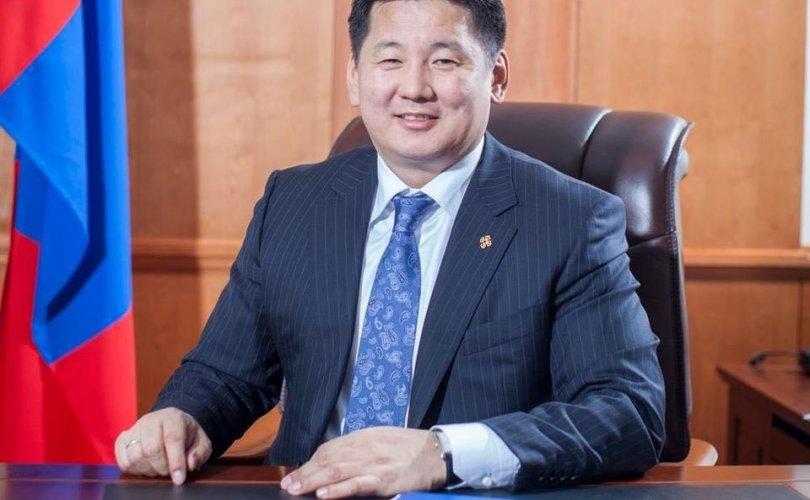 Монгол Улсын Ерөнхий сайд мэндчилгээ дэвшүүллээ