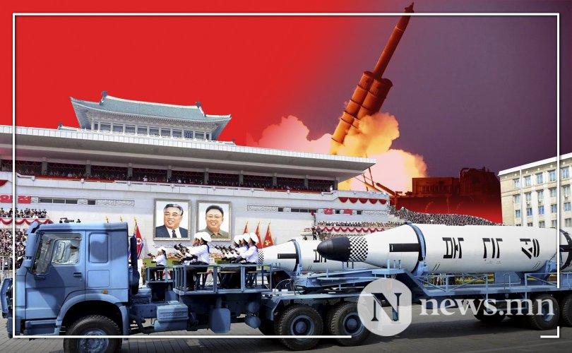 Хойд Солонгос усан доор пуужин туршихаар зэхэж байна