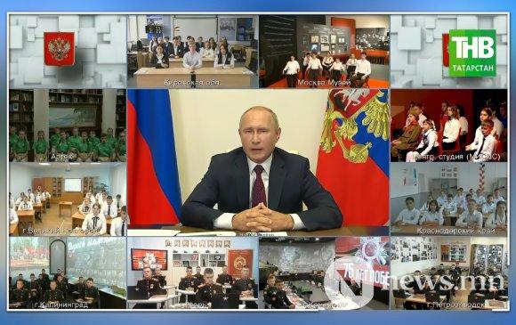 Хүүхдүүд Путинтэй компьютер тоглоом тоглох санал тавьжээ