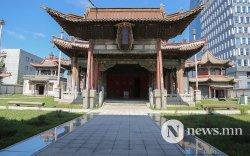 Чойжин ламын сүм музей өнгө засчээ
