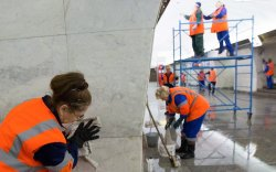 Москвагийн өдрийг угтан 1600 гаруй объектыг угааж цэвэрлэв