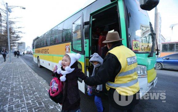 Даваа гаригаас явж эхлэх сургуулийн автобусны 35 чиглэл