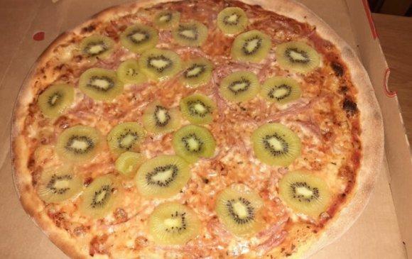 Кивитэй пицца хийгээд эхнэртээ хаягджээ