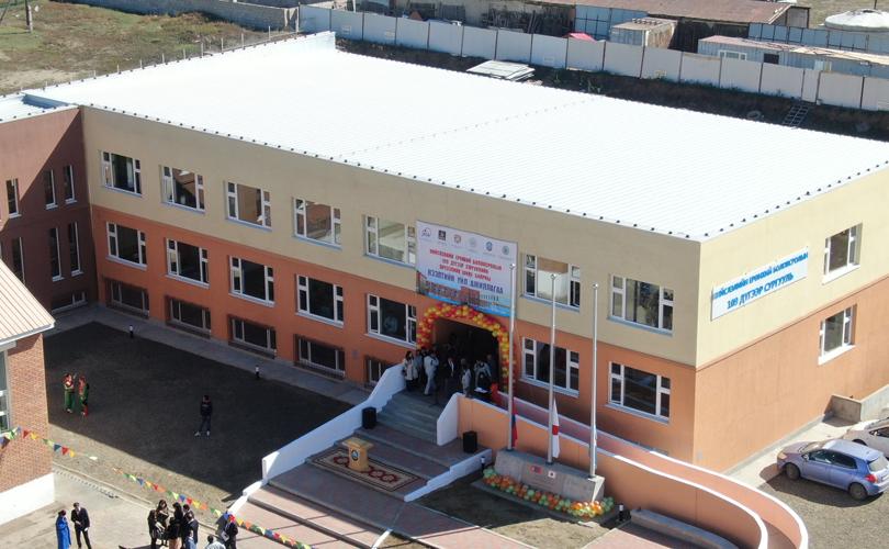 Налайх дүүргийн 109 дүгээр сургуулийн өргөтгөлийг ашиглалтад орууллаа