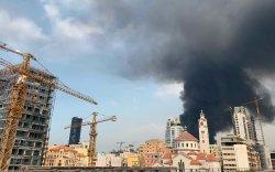Бейрут: Дэлбэрэлтээс сар гаруйн дараа дахин нэг агуулах шатаж байна