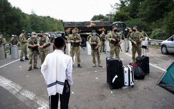 Украин 1000 гаруй еврейд хил нэвтрэхийг хоригложээ